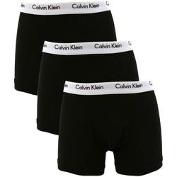 Vêtements Homme Boxers / Caleçons Calvin Klein Jeans Homme 3 Trunks Paquet, Noir noir