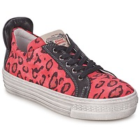 Chaussures Fille Baskets basses Diesel JAKID Rose / Léopard