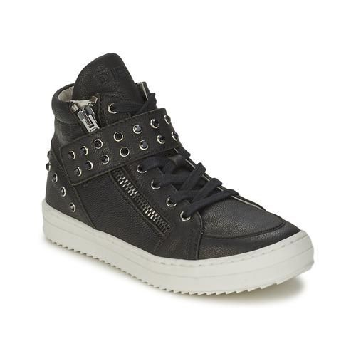 Chaussures Fille Baskets montantes Diesel TREVOR Noir
