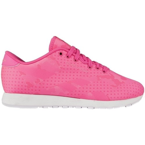 Chaussures Femme Baskets basses Reebok Sport Classic Nylon Jacquard Rose