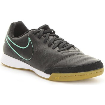 Chaussures Homme Baskets basses Nike Tiempox Genio II Leather IC Noir
