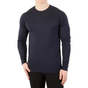 Vêtements Homme Pulls John Smedley Homme Ras du cou en tricot, Bleu bleu