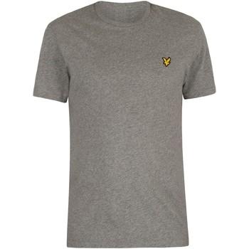 Vêtements Homme T-shirts manches courtes Lyle & Scott Homme Logo T-shirt, Gris gris