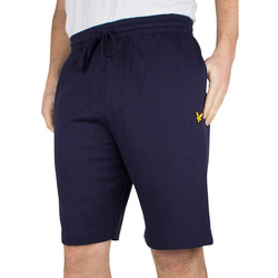 Vêtements Homme Shorts / Bermudas Lyle & Scott Homme Shorts Logo Sweat, Bleu bleu