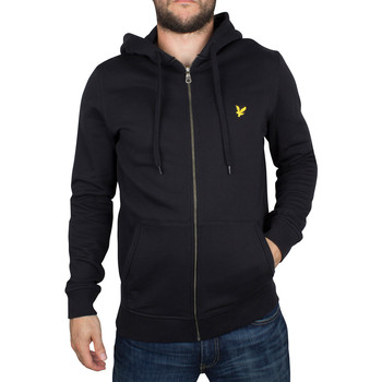 Vêtements Homme Sweats Lyle & Scott Homme Logo Zip Hoodie, Noir noir
