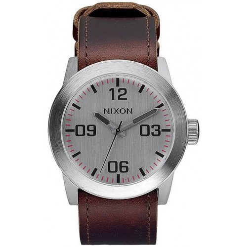 Montres Nixon Montre  Private - Silver / Brown Marron 350x350