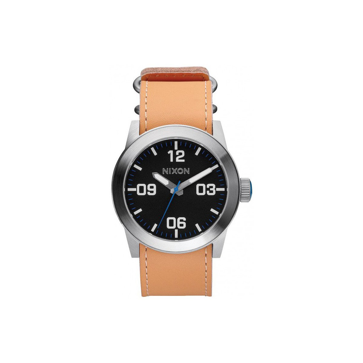 Nixon Montre  Private - Natural / Black Marron
