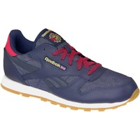 Chaussures Femme Baskets mode Reebok Sport Classic Leather DG AR2042 Blue