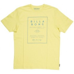 Vêtements Homme T-shirts manches courtes Billabong T-Shirt  Divide Ss - Dust Yellow Jaune