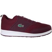 Chaussures Garçon Baskets basses Lacoste 32SPJ0114 LIGHT Rosa