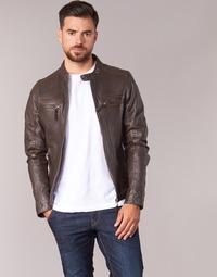 Vêtements Homme Vestes en cuir / synthétiques Oakwood 60901 Marron