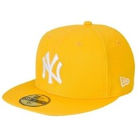 Accessoires textile Homme Casquettes New Era Casquette MLB New York Yankees  59fifty original Jaune