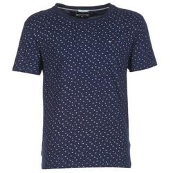 Vêtements Homme T-shirts manches courtes Hilfiger Denim GRONTON Marine