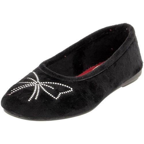 Chaussures Femme Ballerines / babies La Maison De L'espadrille 6092 noir