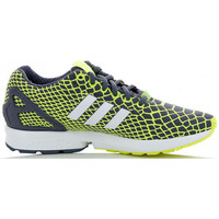 Chaussures Enfant Baskets basses adidas Originals ZX Flux Techfit Junior - Ref. B25660 Jaune