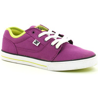 Chaussures Fille Baskets basses DC Shoes BRISTOL CNVAS purple