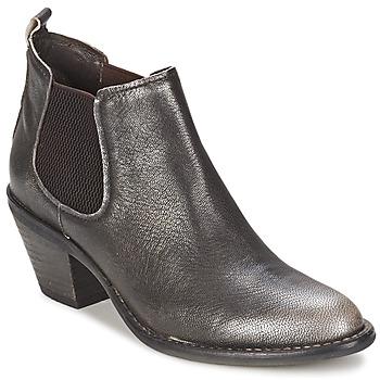 Chaussures Femme Bottines Un Matin d'Ete NIPSY Carbone