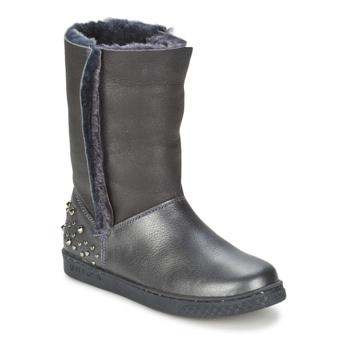 Chaussures Fille Boots Unisa NILL Noir
