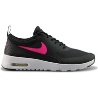 Chaussures Fille Baskets mode Nike Air Max Thea Junior Noir Rose Noir/Blanc/Rose