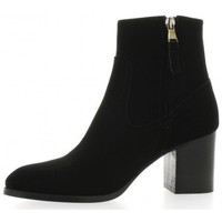 Bottines Giancarlo Boots cuir velours