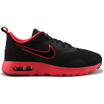 Chaussures Garçon Baskets mode Nike Air Max Tavas Fb Junior Noir Noir/Rouge