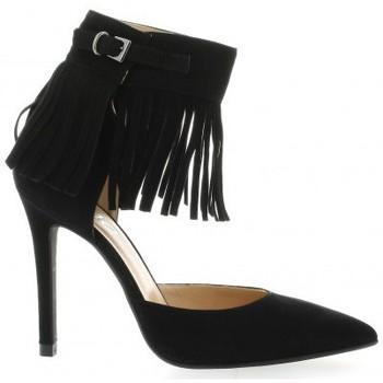 Chaussures Femme Escarpins Essedonna Escarpins cuir velours Noir