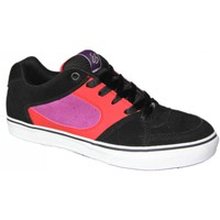 Chaussures Homme Baskets basses Es Baskets Homme  skateboard shoes collector Square one Black red b Noir