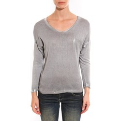 Vêtements Femme Pulls Barcelona Moda Pull See You Again Gris Gris