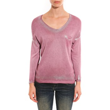 Vêtements Femme Pulls Barcelona Moda Pull See You Again Rose Rose