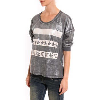 Vêtements Femme Pulls Dress Code Pull Mooiki Gris Gris