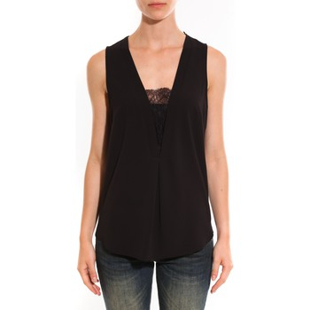 Vêtements Femme Tops / Blouses Ema Blues Emma Blues Top Cherry Noir Noir