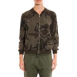 Vêtements Femme Blousons Sweet Company Veste militaire Miss Carla Vert