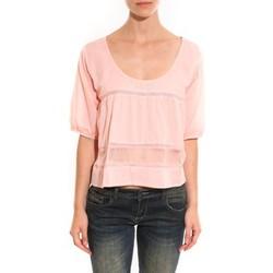 Vêtements Femme Tops / Blouses Lara Ethnics Top Wendy Rose Rose
