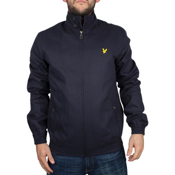 Vêtements Homme Blousons Lyle & Scott Homme Harrington Logo Zip Jacket, Bleu bleu