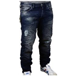 Vêtements Homme Jeans droit Jack & Jones ErikPantalons