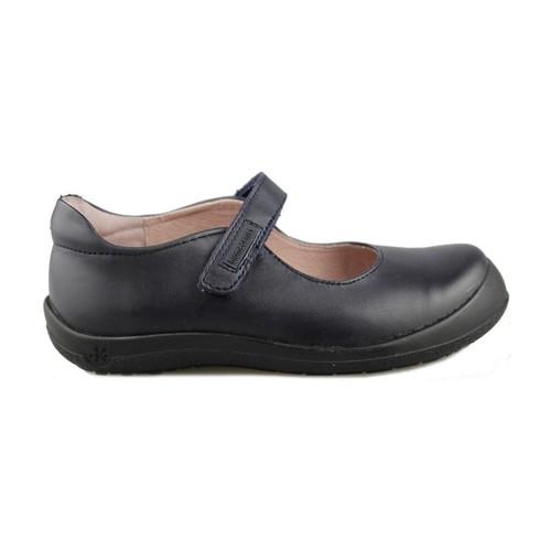 Chaussures Fille Ballerines / babies Biomecanics COLEGIAL BERTA BLEU