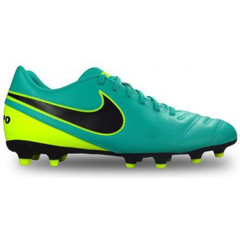 Chaussures Homme Football Nike Chaussure de foot Tiempo Rio III turquoise