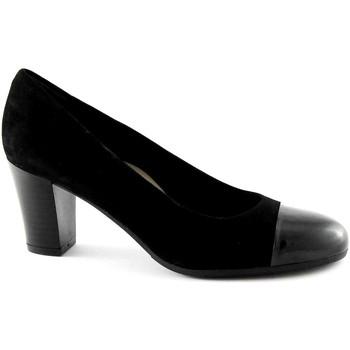 Chaussures Femme Escarpins Grunland Grünland NIRA SC2070 femme noire chaussures en daim dcollet Nero