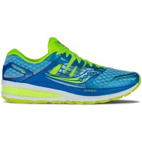 Chaussures Femme Running / trail Saucony Triumph Iso 2 Bleu