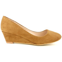 Chaussures Femme Espadrilles Cendriyon Escarpins Caramel Chaussures Femme, Caramel