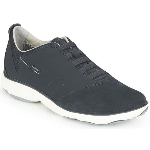 Geox NEBULA Bleu - Livraison Gratuite avec - Chaussures Baskets basses Homme