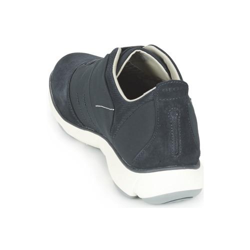 Basses Homme Chaussures Baskets Geox Nebula Bleu f6gyb7