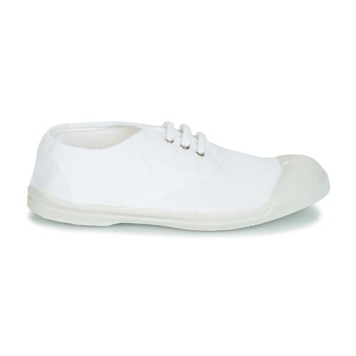 Basses Blanc Enfant Tennis Bensimon Baskets Lacet Chaussures cKJ3Tl1F