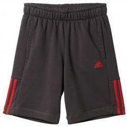 Vêtements Garçon Shorts / Bermudas adidas Originals Short essentials mid 3S noir