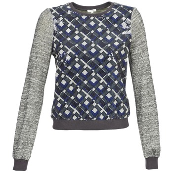 Vêtements Femme Sweats Manoush MOSAIQUE Gris / Noir / Bleu