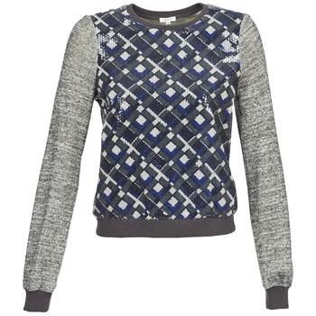 Sweats & Polaires Manoush MOSAIQUE Gris / Noir / Bleu 350x350