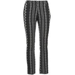 Vêtements Femme Pantalons 5 poches Manoush TAILLEUR Gris / Noir