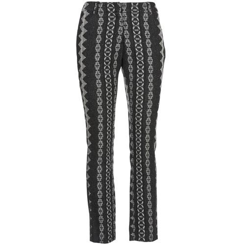 Pantalons Manoush TAILLEUR Gris / Noir 350x350