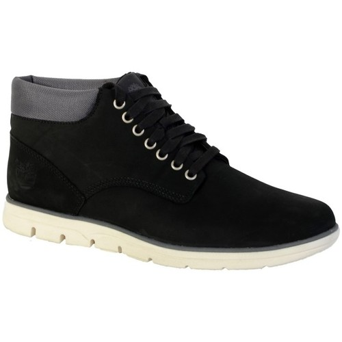 Chaussures Homme Baskets montantes Timberland Chaussure  A146Q Chukka Leather Black Noir