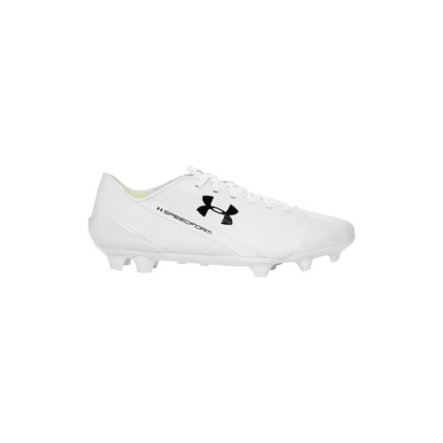 Chaussures Homme Football Under Armour Speedform CRM LTHR FG Weiss